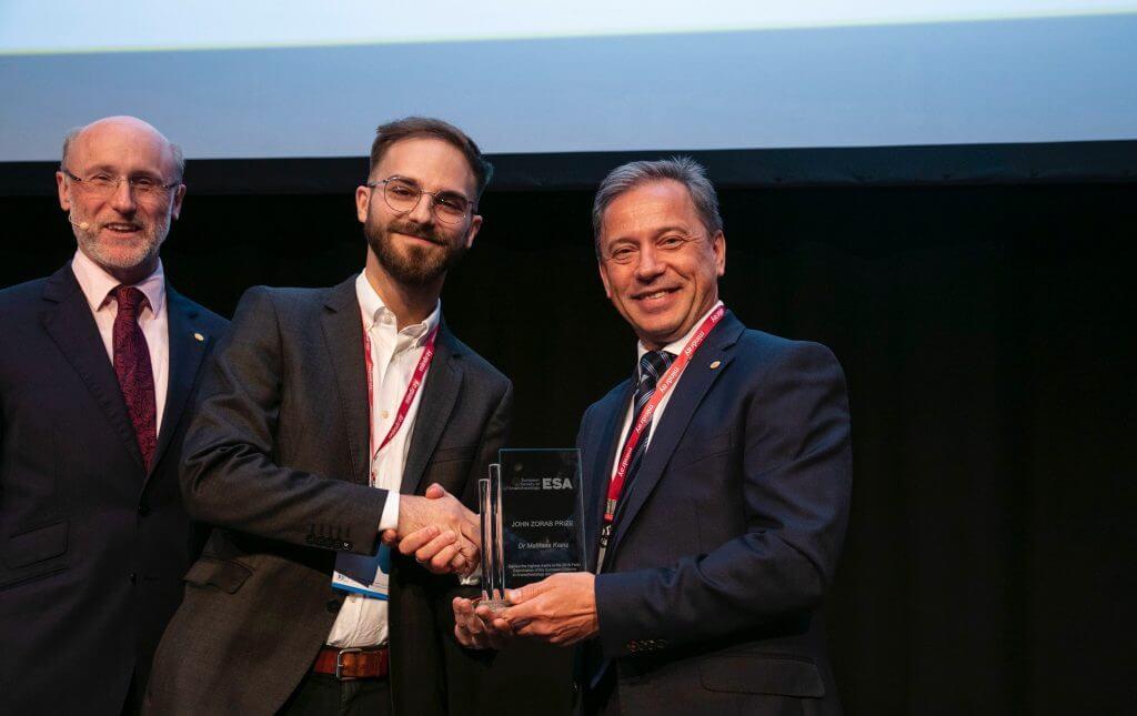 Matthias Kainz John Zorab Prize