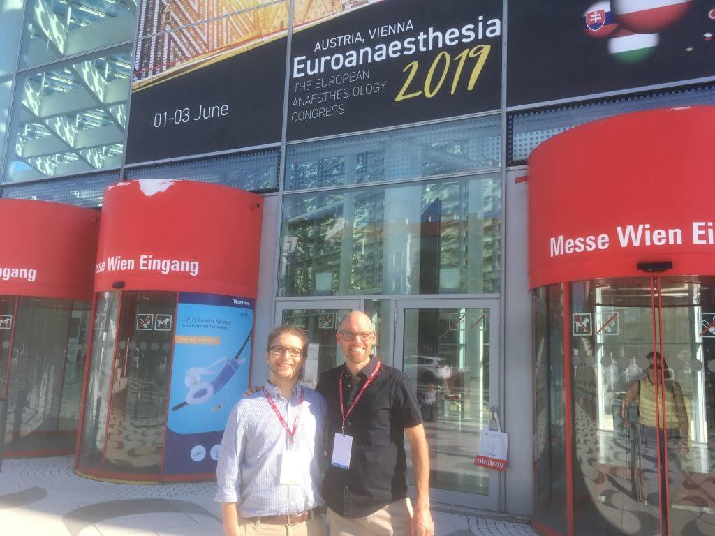 Pierre Raeven neuer NTR mit ESA Trainee Network Chair Bernardo Mathias